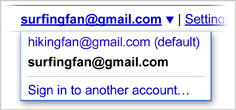 2 gmail account example