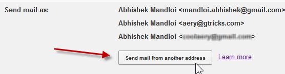 how to change my gmail address