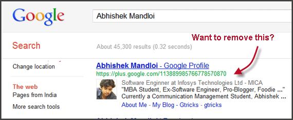 Abhishek Mandloi in Google Search Results