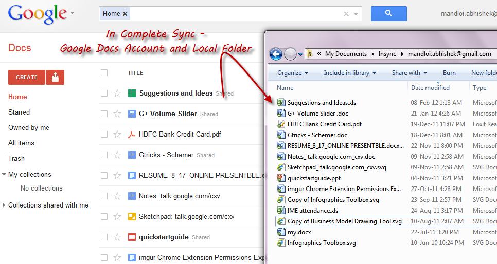 how to unsync google drive folders