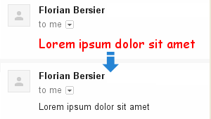 gmail default fonts