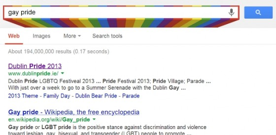 Gay pride Google Search
