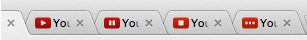 youtube pause favicon