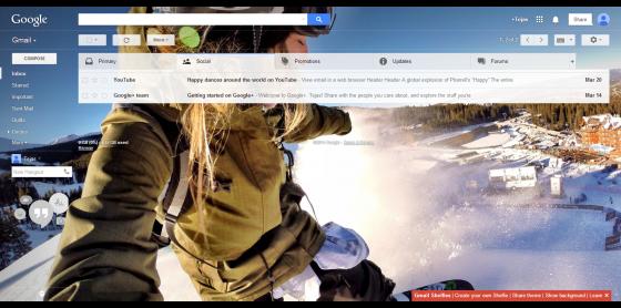 Gmail Shelfies