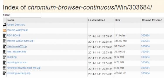 Chrome Zip Latest Build
