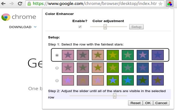 chrome color enhancer