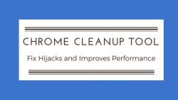 Chrome cleanup banner