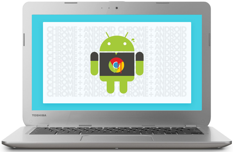 Android on Chromebook replacing ChromeOS