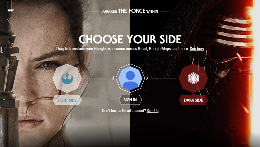 Star Wars Choose your side