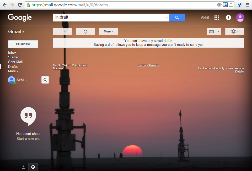 Star Wars Gmail inbox theme
