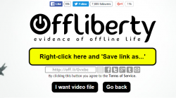 offliberty save as audio