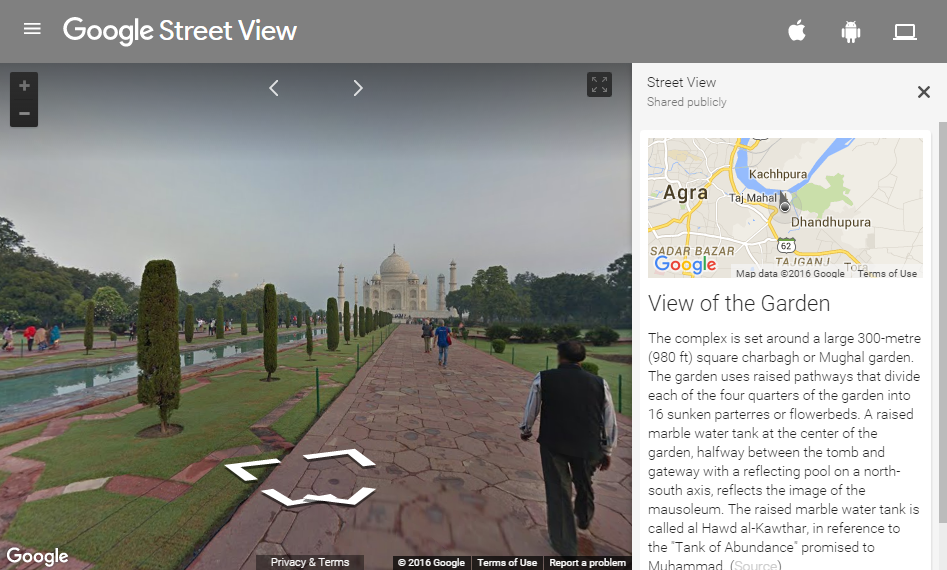 Difference Between Google Maps Google Street View and Google Earth – View Street Map Google Earth
