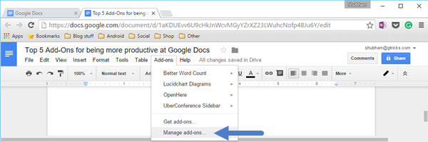 google docs how to add columns easily