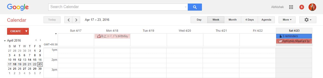 Google Calendar Design : Get material designed google products using ink chrome