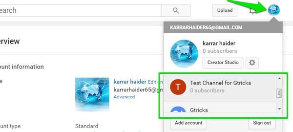 multiple-youtube-channels-select-channel