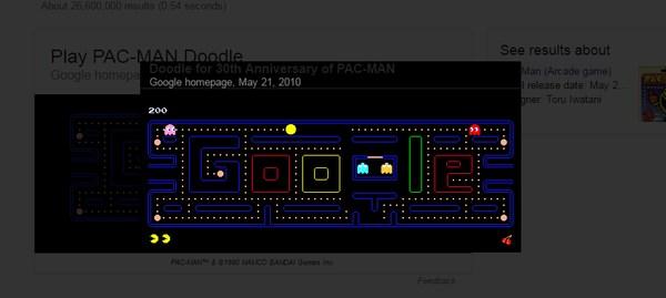 google-search-tricks-pacman