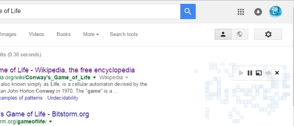 google-search-tricks-conways-game-of-life