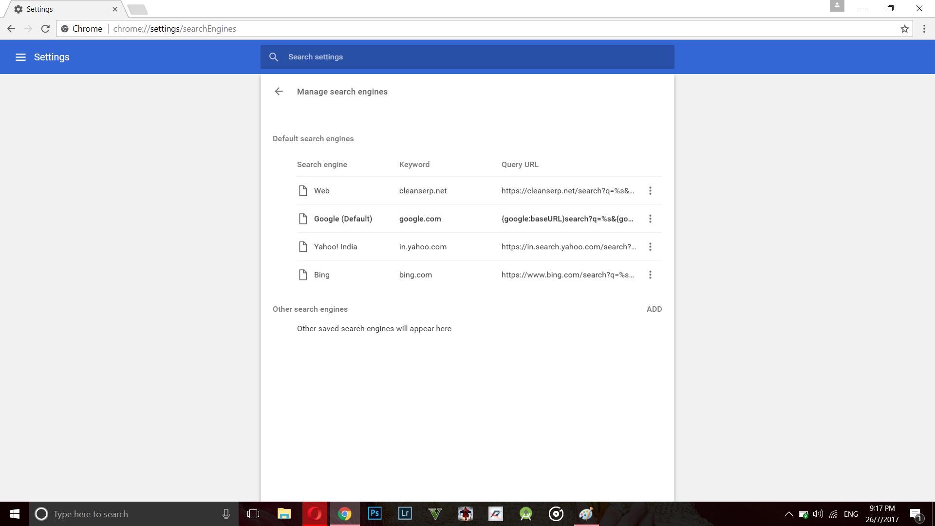 Google chrome home page shortcut - Step 5