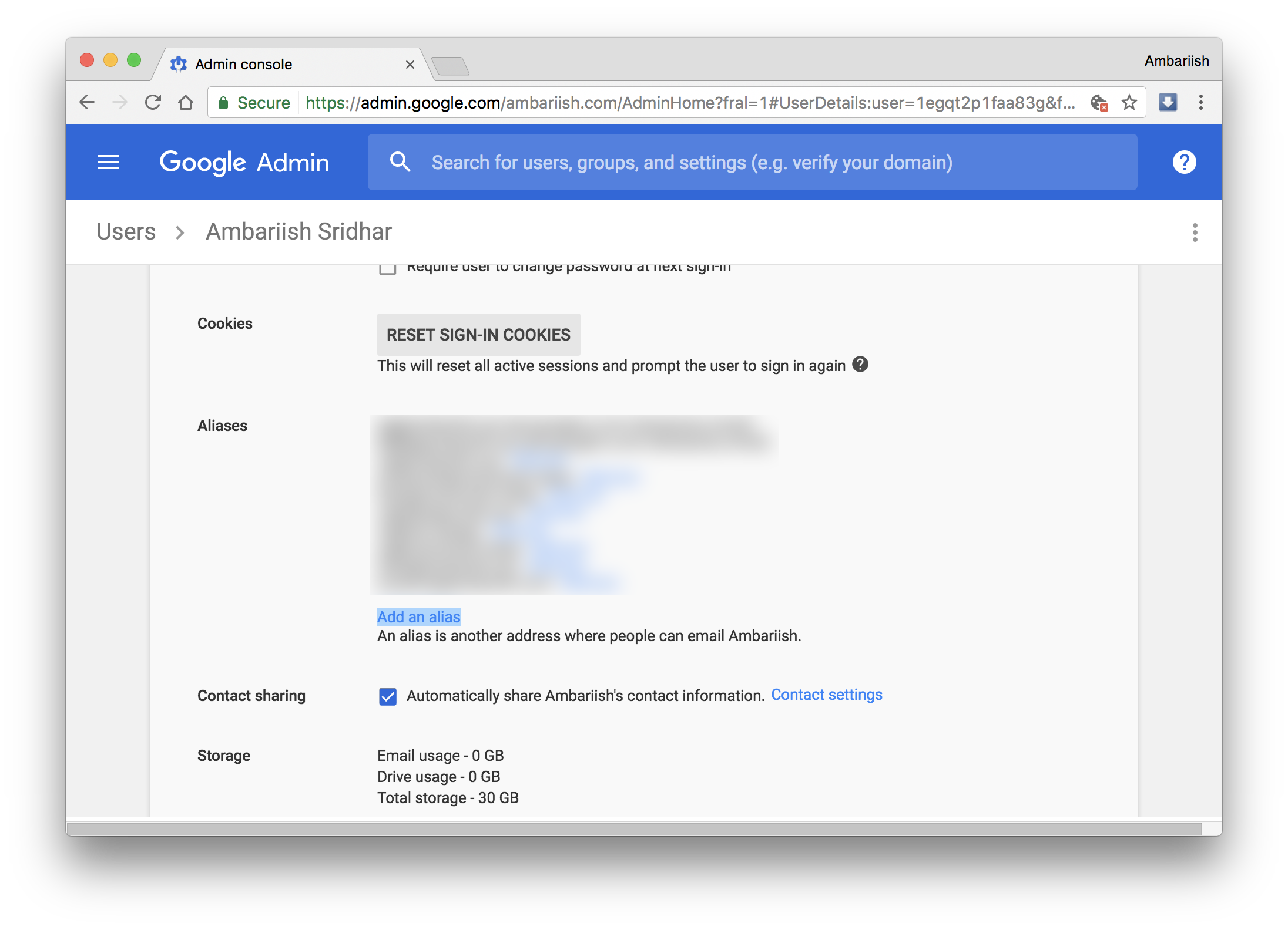 add multiple email aliases in g suite