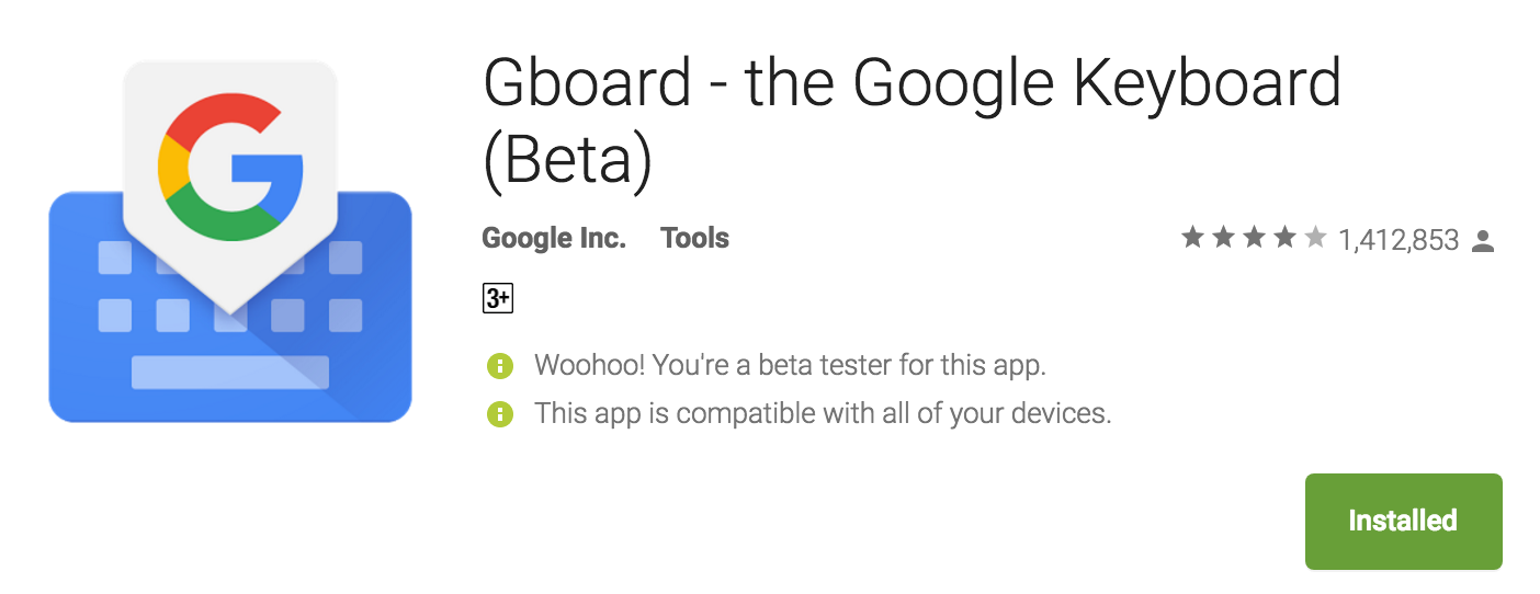 Gboard keyboard featured image