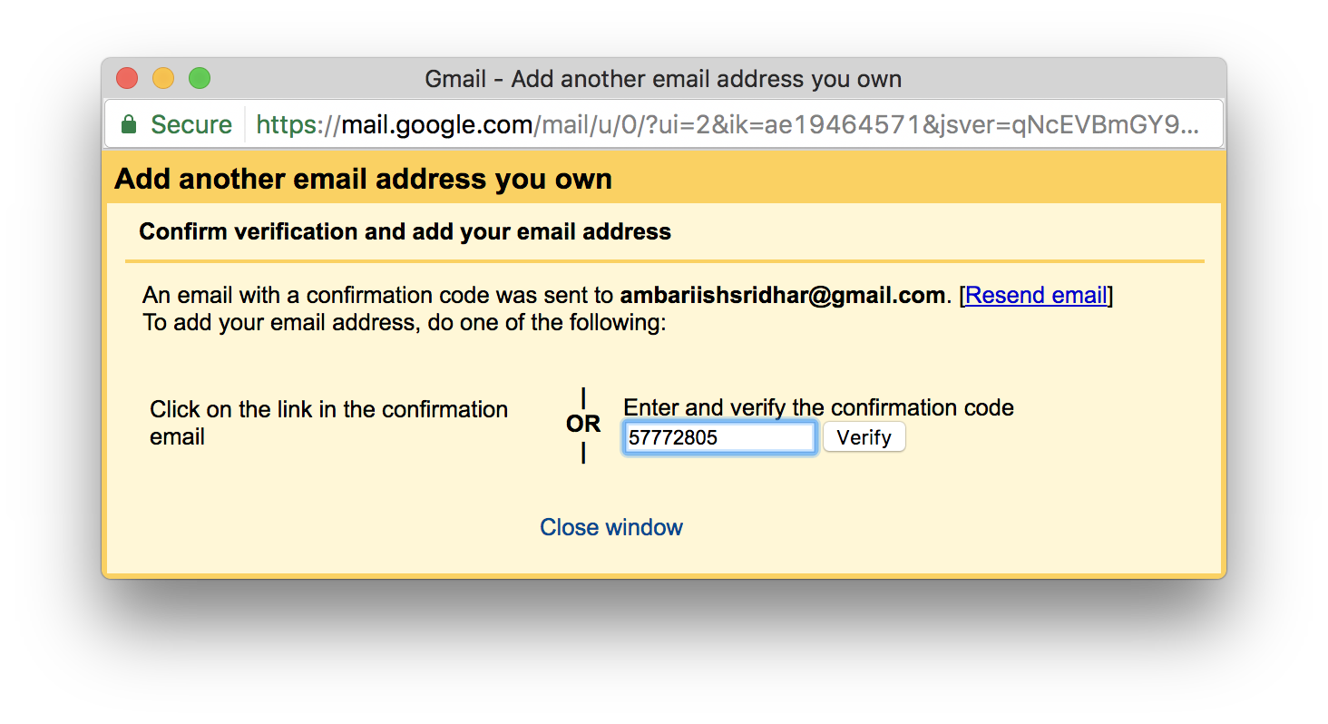 add multiple aliases in gmail
