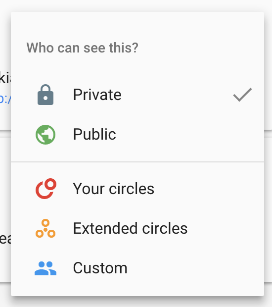 creating a google profile