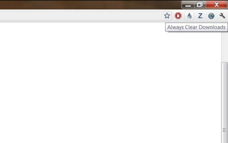 auto hide downloads bar in Chrome