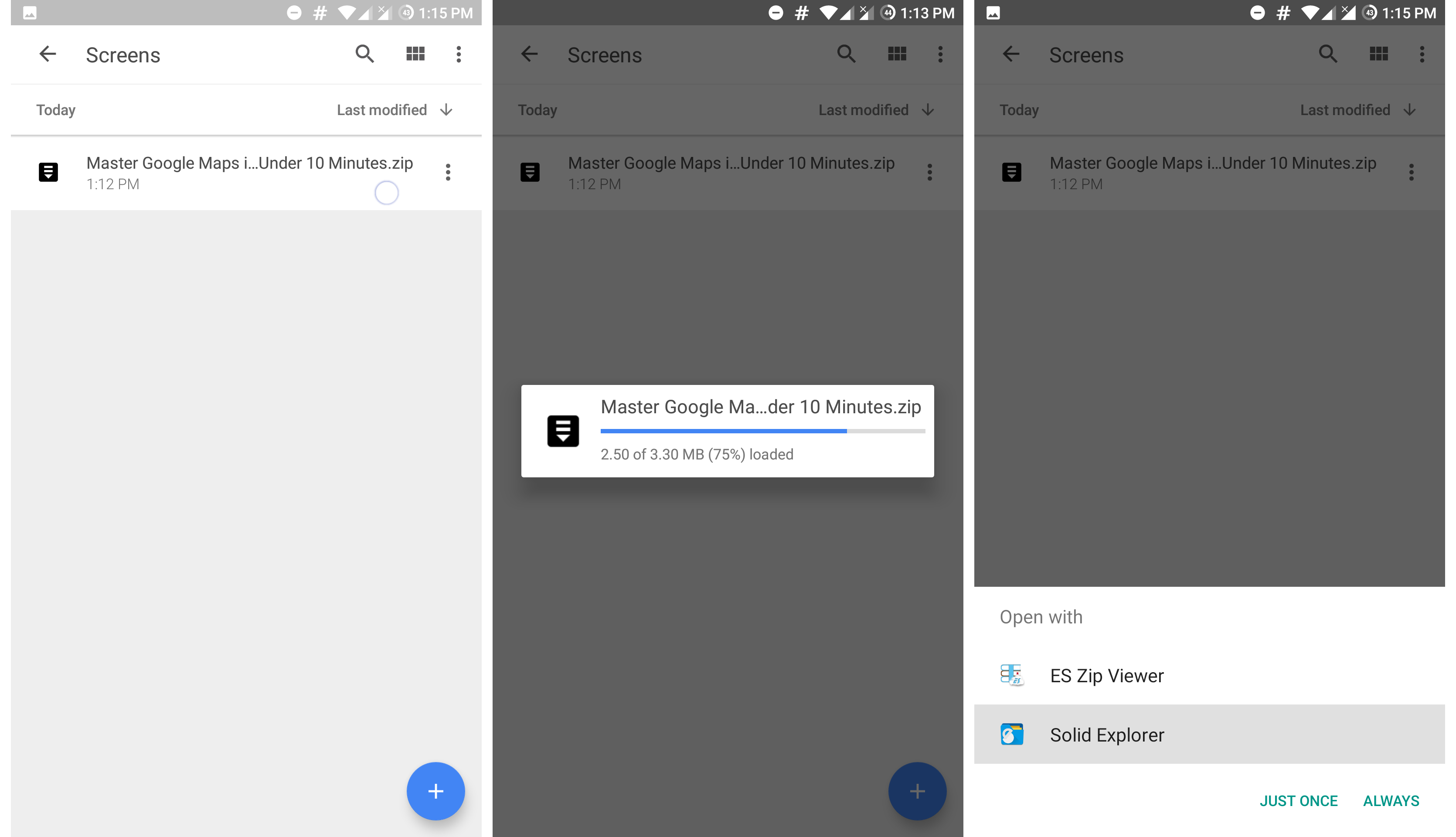 how to open zip file in google drive