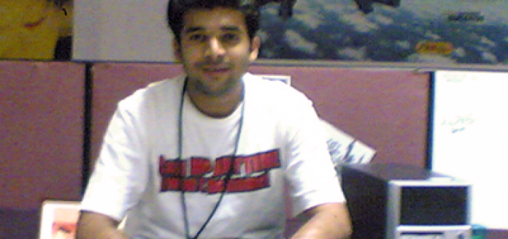 Abhishek having a good time in office