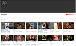 latest free hindi movies on Youtube
