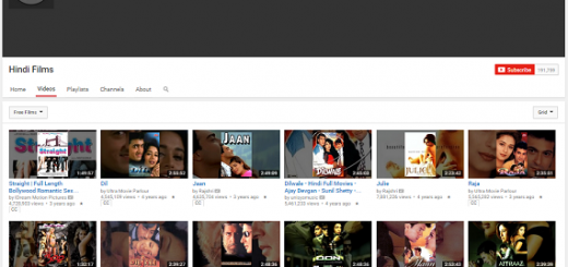 latest free hindi movies on Youtube
