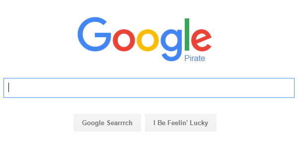 Pirate Google