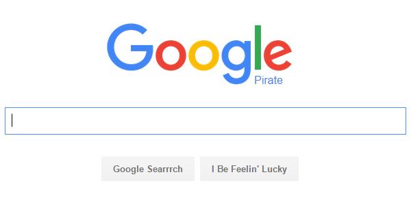 Pirate Google