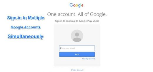 Log-in with Different Gmail or Google Accounts in the Same Browser