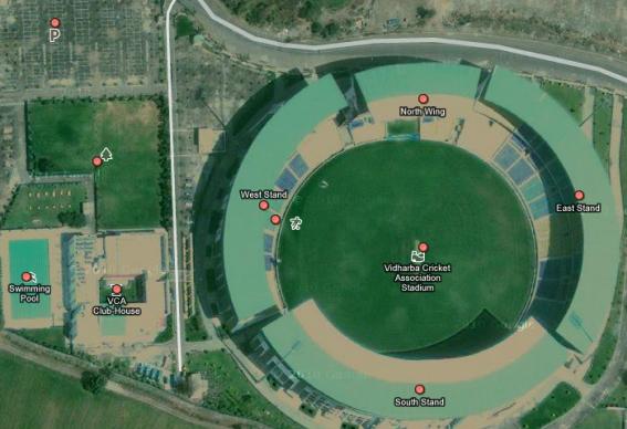 Vidharba Cricket Stadium - Nagpur