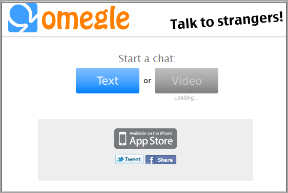 omegle video chat on iphone 5 to chat anonymously with random 1801