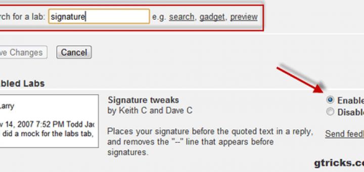 Remove Gmail signature dash