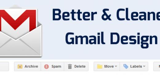 Better Gmail Design