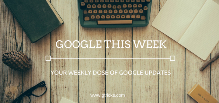 Google This Week Newsletter