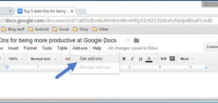 Top Add-ons for Google Docs to Increase Your Productivity