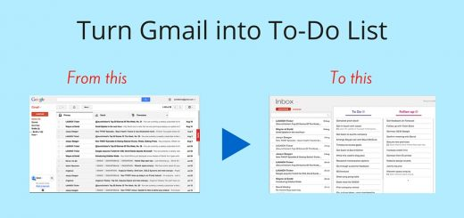 Turn Gmail into List banner