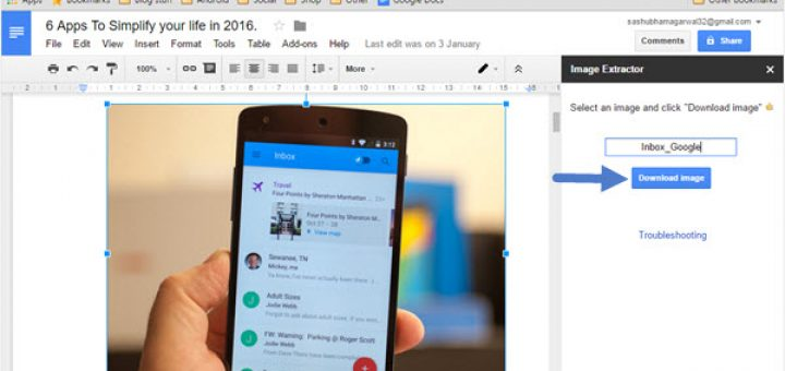 How To Save Images From A Google Docs Document - Google docs save