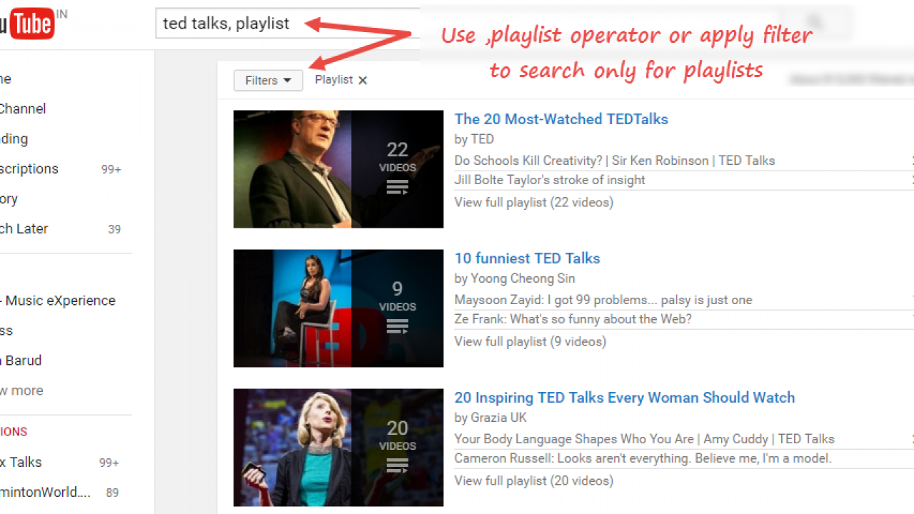 How to Search and Download YouTube Playlists in Your Computer