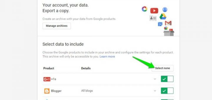 How to view archived gmail