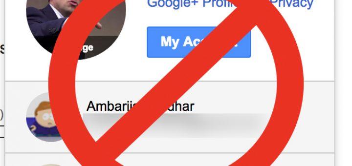 make different google account default