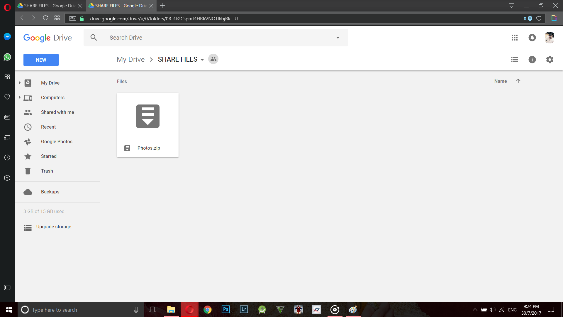 Upload FIles To Anyone's Google Drive