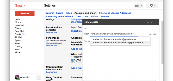 how to add a gmail account into mail