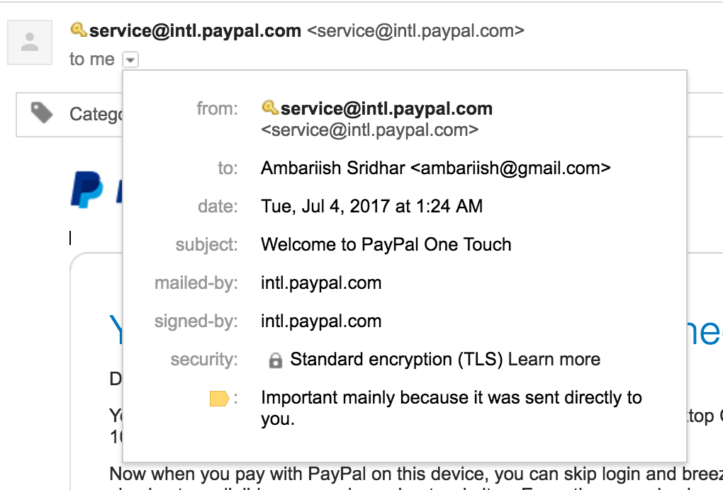 identify spoofed emails