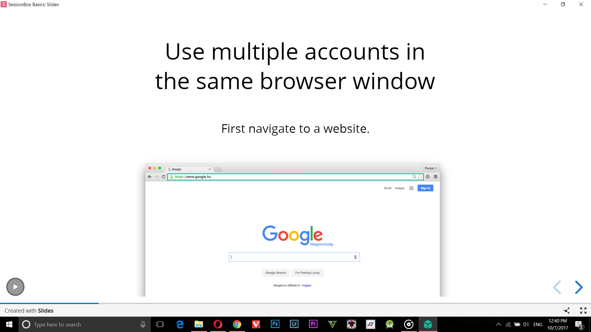 How To Use Multiple Facebook And Twitter Accounts In Chrome Without
