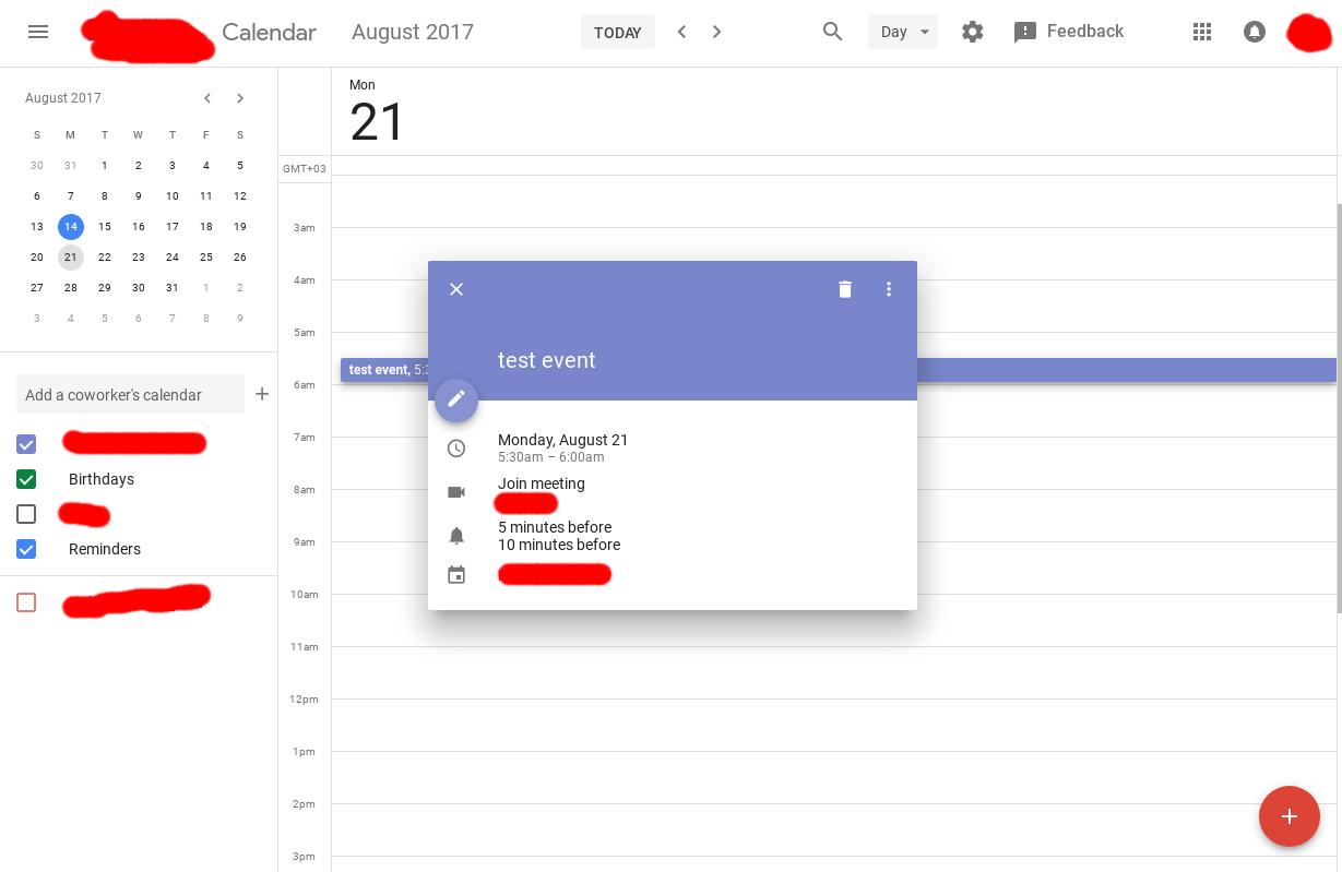 Google Calendar Design : Revamped google calendar ui for desktop spotted in leaks